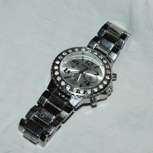 TT SS Bedazzled Chronometer Watch by Style & Co